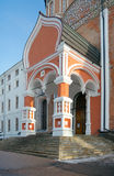Boczny widok portal intercesi północ i katedra sprzedawał Zdjęcie Stock