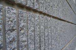 Boczny widok szary prostacki cement ściany tło zdjęcie stock