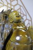 Boczny wizerunek śmiać się Buddha Zdjęcia Stock