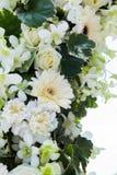 Boda adornada en la disposición de la boda de playa Fotos de archivo libres de regalías