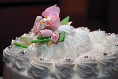 Boda cake02 imagen de archivo libre de regalías