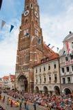 Boda de Landshut Imágenes de archivo libres de regalías