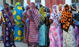 Boda de Muslim´s en Zanzibar imagenes de archivo