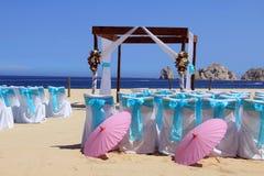 Boda de playa Imágenes de archivo libres de regalías