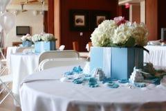 Boda del estilo de Tiffany Fotografía de archivo libre de regalías