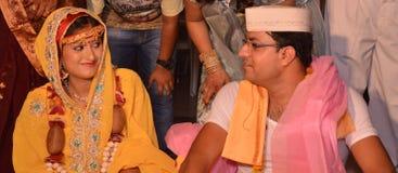 Boda del Gujarati Imagen de archivo libre de regalías