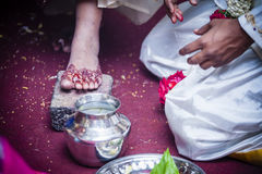 Boda india Imágenes de archivo libres de regalías