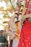 Boda india en Rishikesh, noviembre de 2015 Fotos de archivo