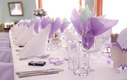 Boda púrpura Foto de archivo