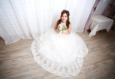 Boda que espera de la novia Imágenes de archivo libres de regalías
