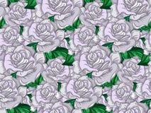 Boda Rose Seamless Pattern Imágenes de archivo libres de regalías