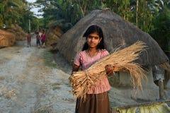 Boda temprana en la India Foto de archivo