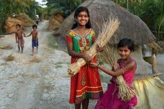 Boda temprana en la India Fotos de archivo