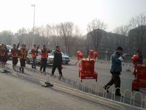 Boda tradicional china imagen de archivo libre de regalías