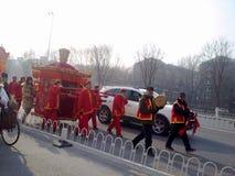 Boda tradicional china foto de archivo libre de regalías