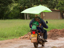 Bodaboda taxi w Tanzania Fotografia Royalty Free