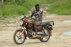 Bodaboda taxi w Tanzania Obraz Stock