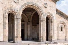 Bodbe-Kloster-Heiliges Nino Monastery bei Bodbe Nahe Sighnaghi Georgia Lizenzfreie Stockbilder