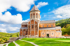 Bodbe kloster, Sighnaghi arkivbilder