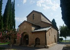 Bodbe monasteru kościół zdjęcia royalty free
