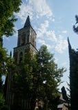 Bodbe monasteru Kościelny Dzwonkowy wierza zdjęcie royalty free