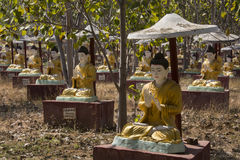 Boddhi-Tathaung Buddha Field - Monywa - Myanmar Royalty Free Stock Photos
