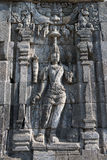 Boddhisattva image in Candi Sewu Buddhist complex, Java, Indone Stock Photo