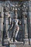 Boddhisattva image in Candi Sewu Buddhist complex, Java, Indone Stock Photo