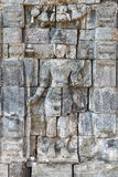 Boddhisattva image in Candi Sewu Buddhist complex, Java, Indones Royalty Free Stock Photo