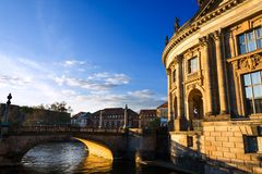 Bode-Museum (Berlin) Stock Images