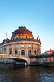 Bode museum in Berlin in the evening Stock Photography