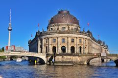 Bode Museum in Berlin, Germany Royalty Free Stock Image