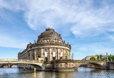 Bode Museum in Berlin, Germany Stock Photo