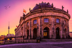Bode museum in Berlin stock image