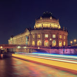 The Bode Museum on the Island in Berlin Stock Images