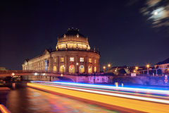 The Bode Museum on the Island in Berlin Royalty Free Stock Photo