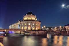 The Bode Museum on the Island in Berlin Royalty Free Stock Images