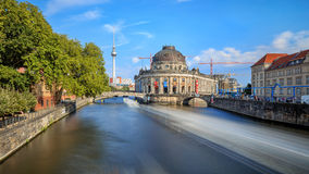 The Bode Museum on the Island in Berlin Stock Photography