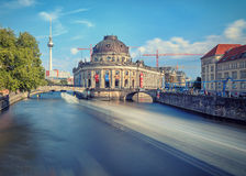 The Bode Museum on the Island in Berlin Stock Photo