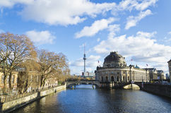 Bode Museum in Museum island Royalty Free Stock Photos