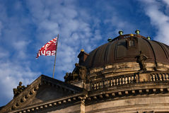 Bode museum. Roof of  Bode museum Royalty Free Stock Photography