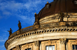 Bode museum. Roof of  Bode museum Stock Image