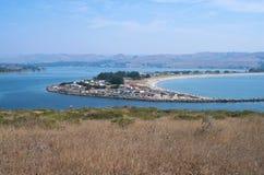 Bodega Bay Harbor and Doran Park Royalty Free Stock Photos