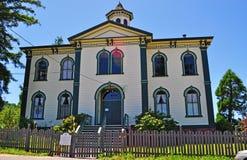 Bodega Bay, Potter Schoolhouse, Public School, California, United States Of America, Usa, Symbolic Stock Photography