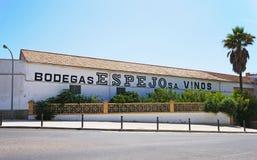 Bodega d'Espejo, Montilla image stock