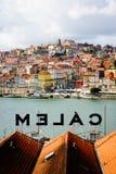 Bodega de Calem en Oporto, Portugal Imagen de archivo libre de regalías