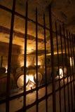 Bodega en mina de piedra subterráneo Foto de archivo