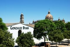 Bodega Gonzales Byass, Ла Frontera Jerez de Стоковое Изображение