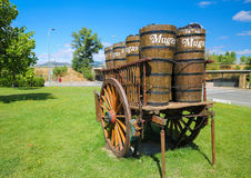 Bodegas Muga in Haro, La Rioja, Spain Stock Image