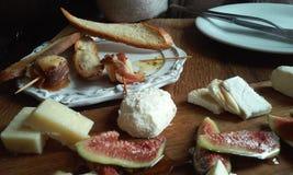 Bodegon del formaggio fotografia stock
